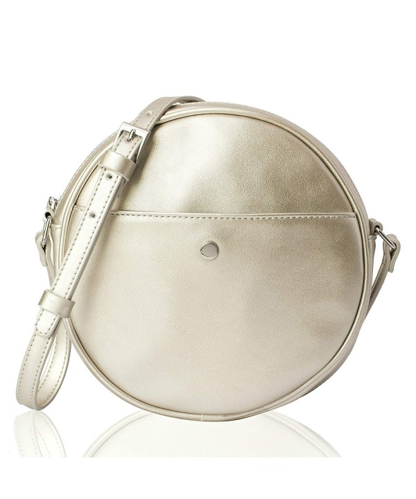 Puli Womens Crossbody Circle Messenger