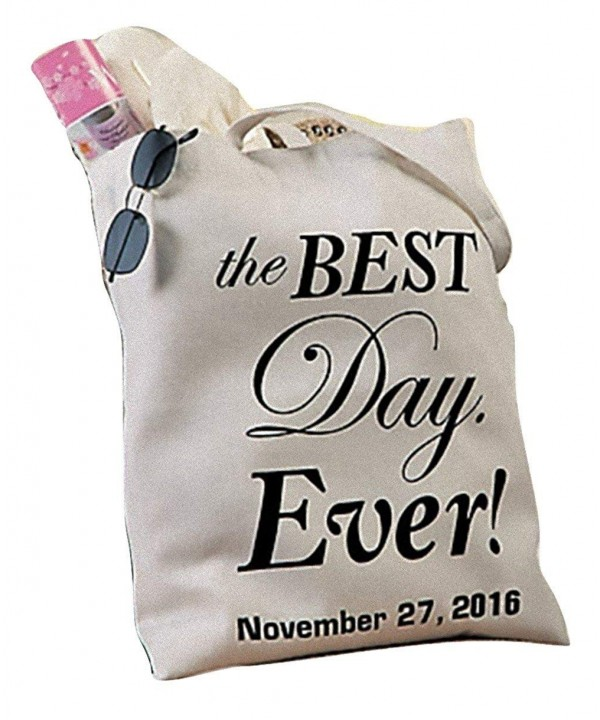 Personalized Best Ever Wedding Canvas