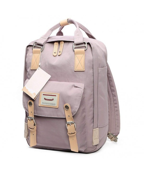 HaloVa Backpack Rucksack Waterproof Lavender