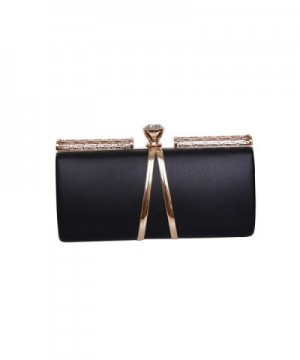Evening Clutch Purse Party Black