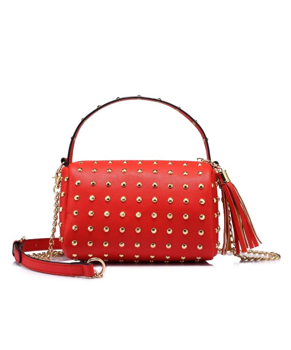 Shoulder Small Purse Clutch Rivets