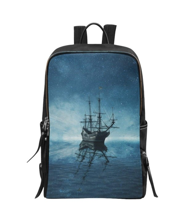 InterestPrint Pirate School Backpack Daypack