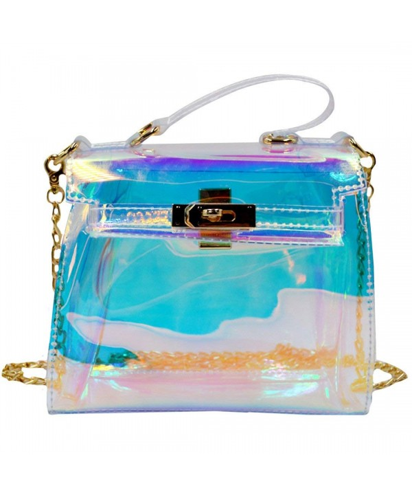 LABANCA Transparent Hologram Handbag Shoulder