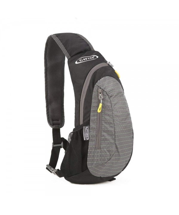 G4Free Shoulder Backpack Adjustable Black Grey