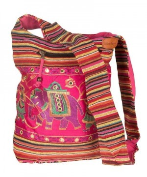 Shoulder Handmade Embroidered Elephant Bohemian