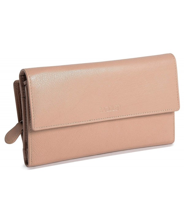 SADDLER Womens Leather Oversize Trifold