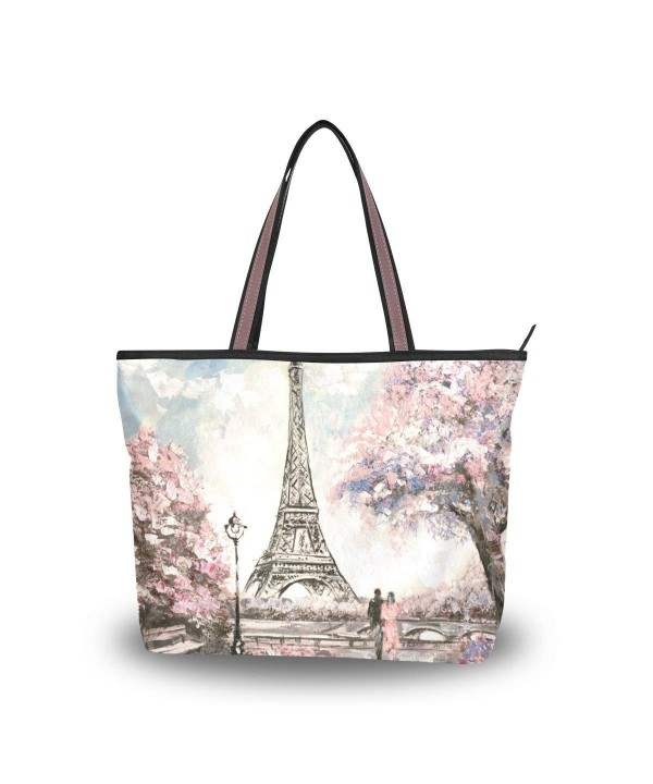 Top Handle Shoulder Painting Handbag