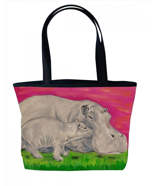 Shoulder Vegan Tote Handbag Animals