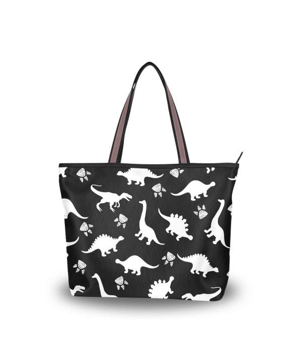 JSTEL Handle Shoulder Dinosaurs Handbag