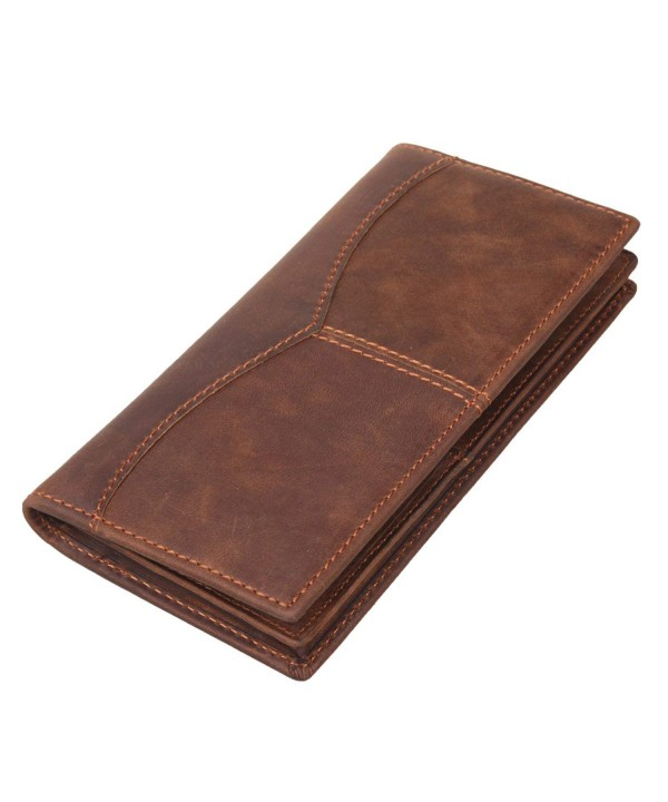 Texbo Genuine Leather Bifold Wallet