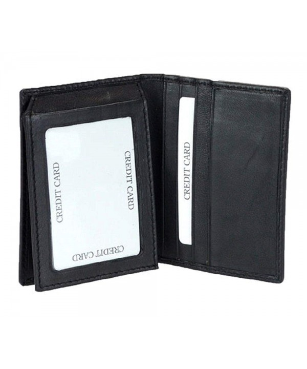 Signal Blocking L Fold Black Wallet