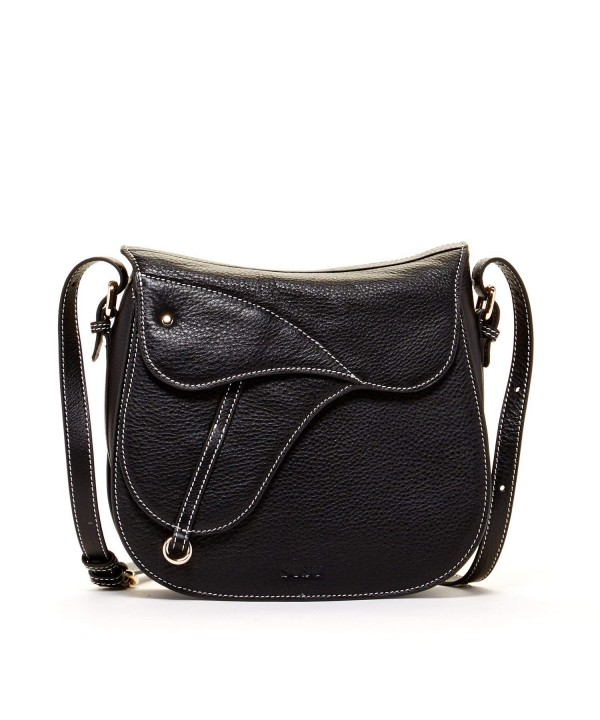 SUSU Leather Crossbody Saddle Women