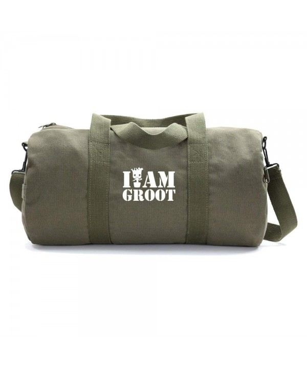 Grab Smile Heavyweight Canvas Duffel