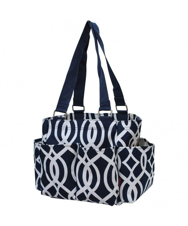 Geometric Themed NGIL Zippered Organizer