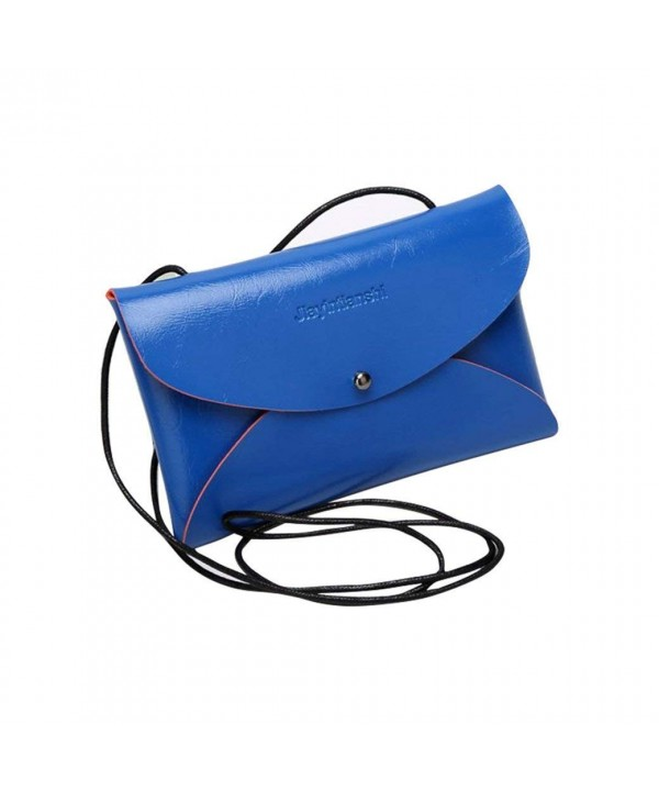 Leather Messenger Clutch Wallet Fashion