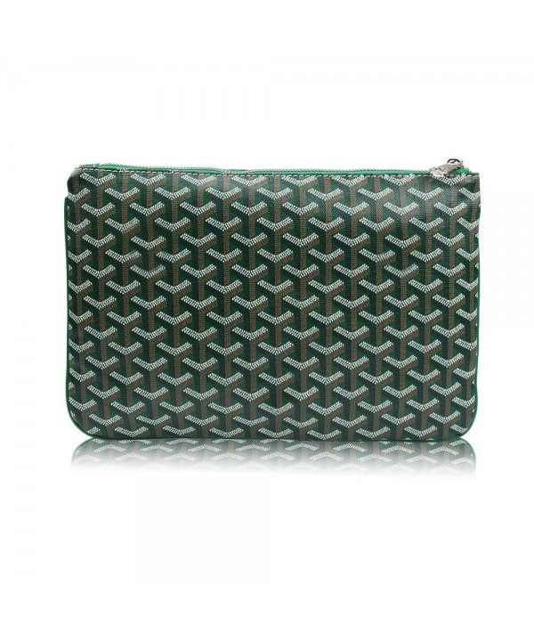 1d33b39ac095 Designer Clutch Purses for Women- Pu Envelope Fashion Clutch Bag- Women  Handbag - Green - CA185M67MYC