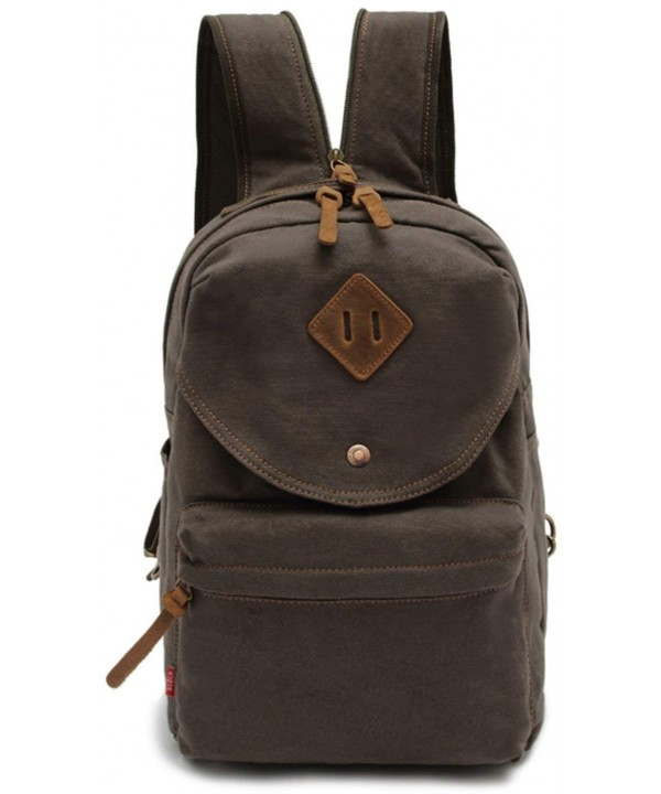 CLELO Multifunctional Canvas Small Backpack