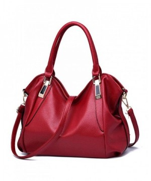 Leather Satchel Handbag Shoulder Handbags