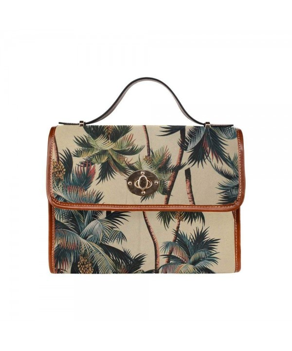 D Story Custom Palm Canvas Handbag