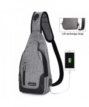 Sling Chest Crossbody Backpack Charging