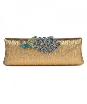 Damara Rhinestone Peacock Hardcase Cocktail
