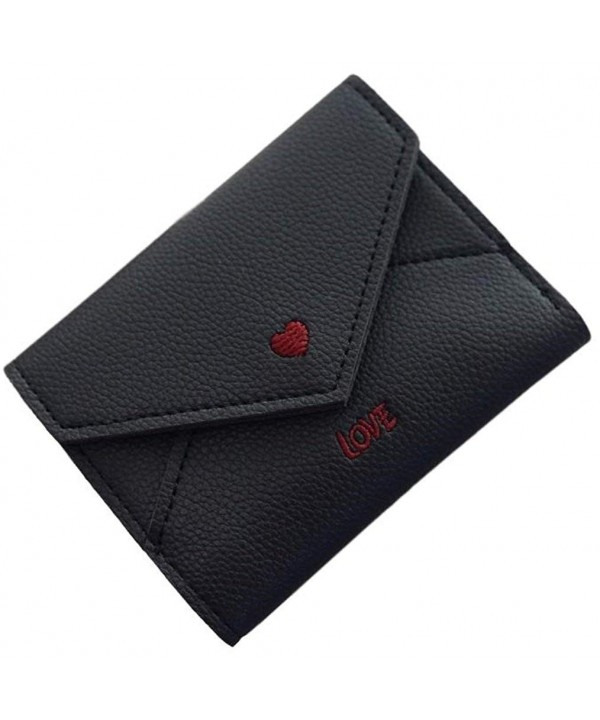 TLH Love Heart Wallet Black