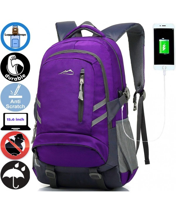 ANTSANG Backpack Business Resistant Reflective