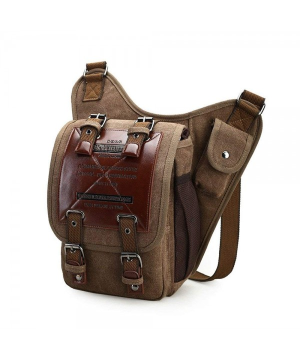 Chikencall Vintage Shoulder Military Messenger