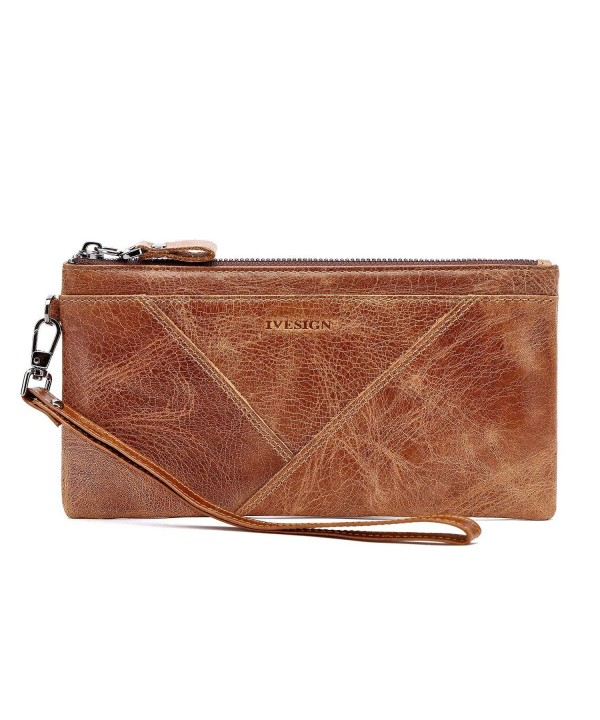 IVESIGN Genuine Wristlet Blocking Capacity
