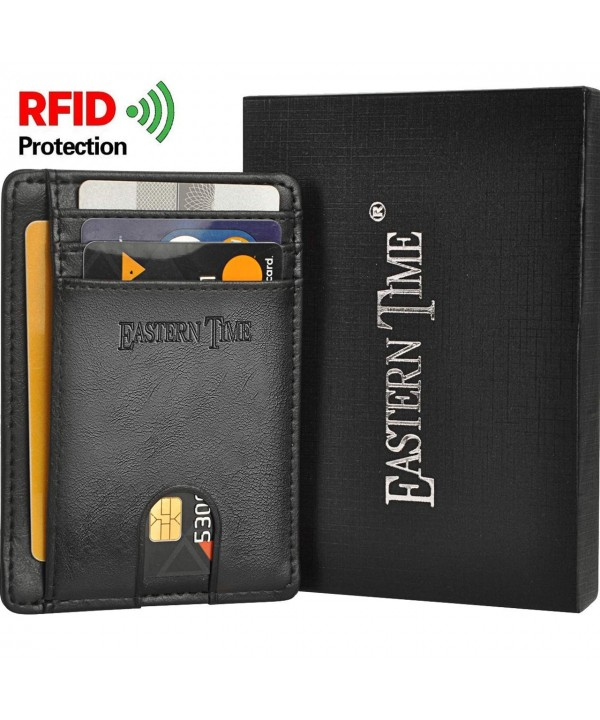 RFID Wallets Men Thin Wallet Pocket Minimalist