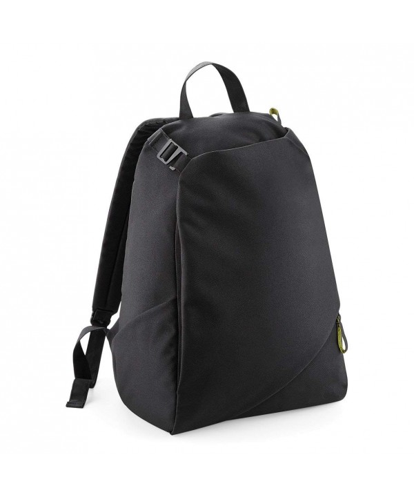 Plain Black Laptop Backpack BagBase