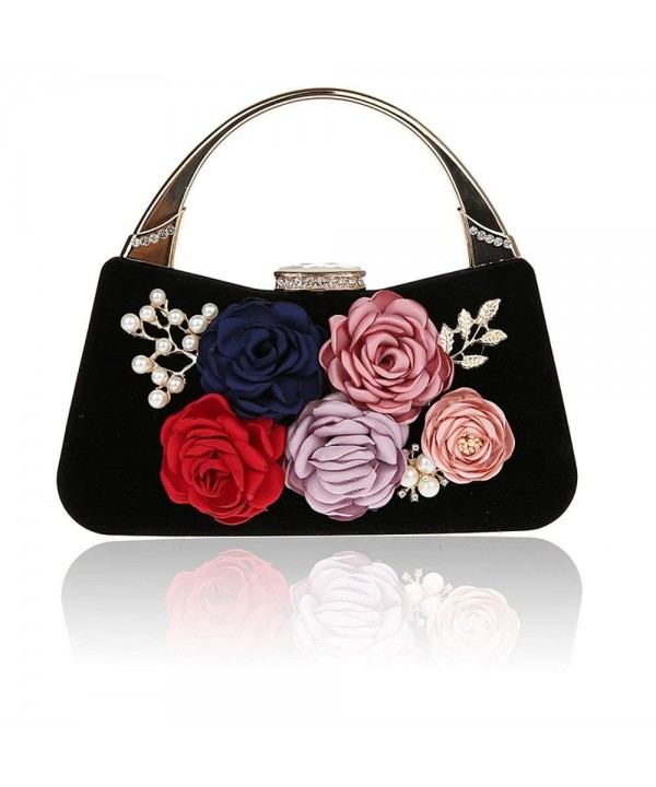 TOPCHANCES Elegant Clutches Handbags Rhinestone