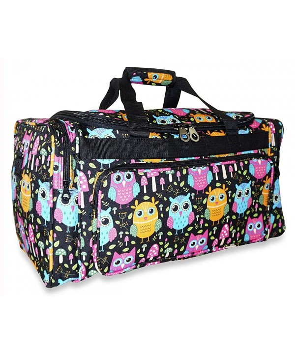 Ever Moda Owl Duffle Women