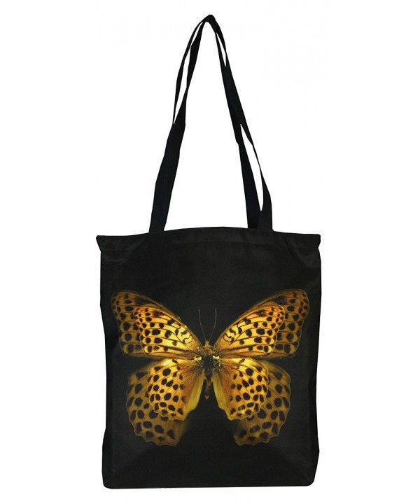 PealRa Butterfly Tote Bag Yellow