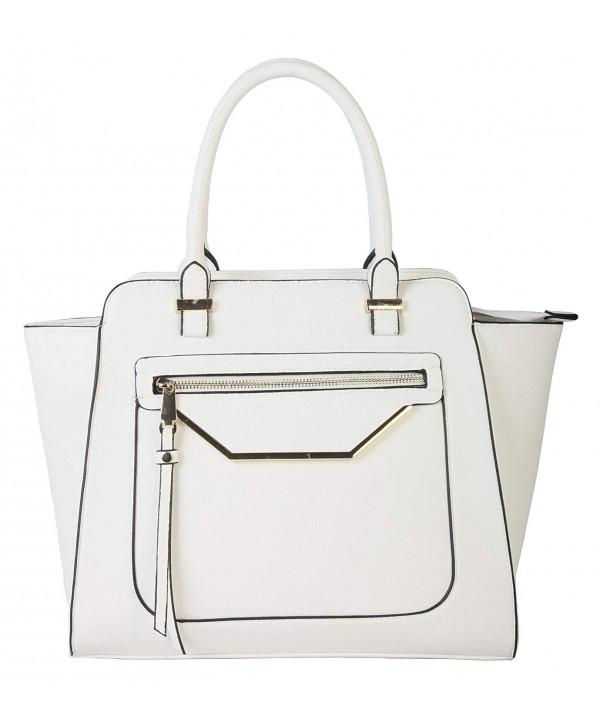 Rimen Accented Zippered Handbag GS 2993