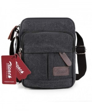 Zicac Retro Canvas Messenger Satchel