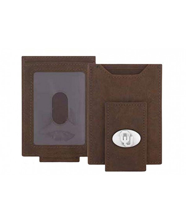 Oklahoma Sooners Light Pocket Wallet