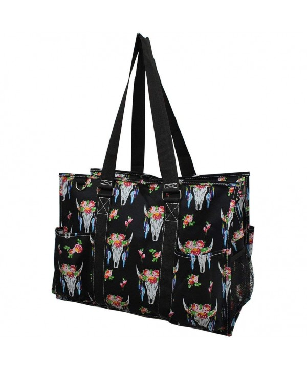 Skull NGIL Large Zippered Organizer
