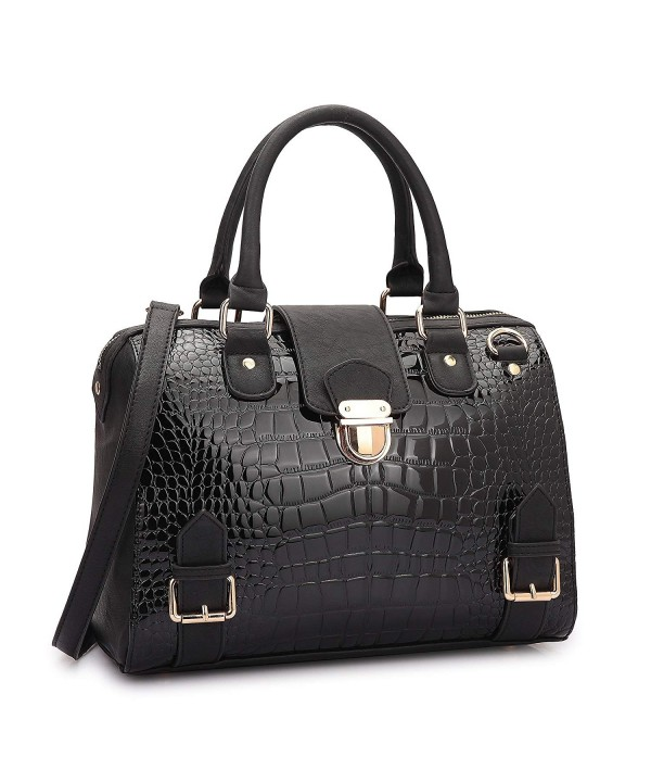 Designer Satchel Handbags Structured Shoulder