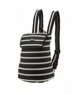 ZIPIT Zipper Backpack Black Silver