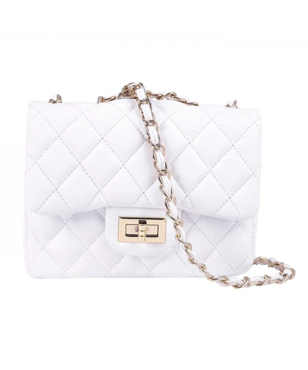 HDE Quilted Crossbody Designer Quality