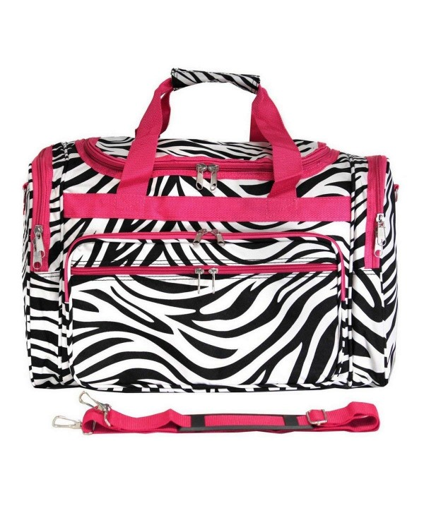 World Traveler Zebra 22 inch Duffle