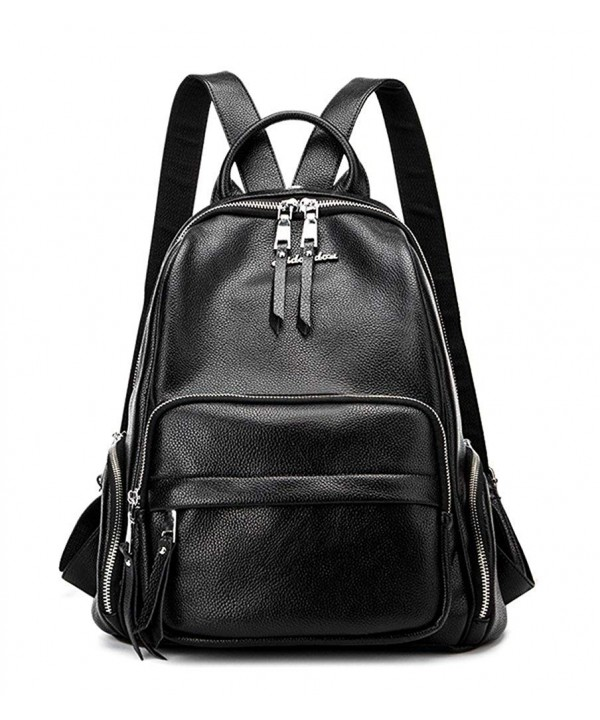 Fashion Backpack Purse Leather School