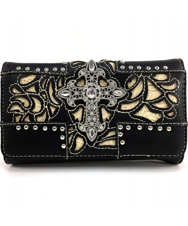 Justin West Rhinestone Wristlet Attachable