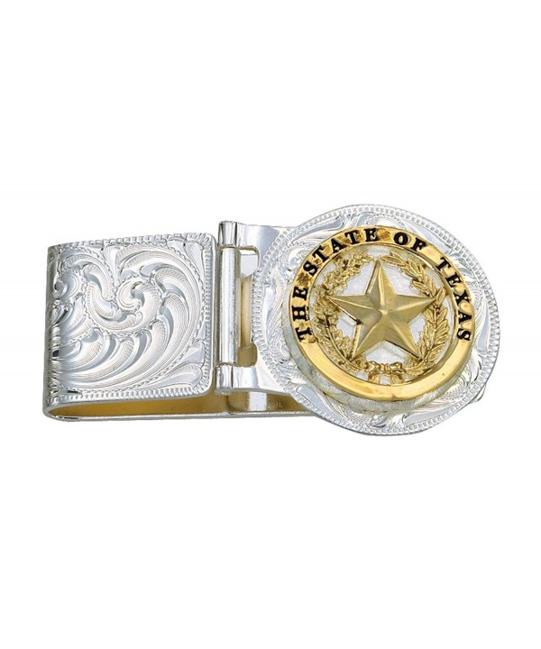 Montana Silversmiths Texas Hinged Silver
