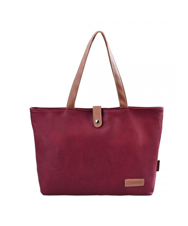 Epokris Shoulder Shopping Wine red E00251WR