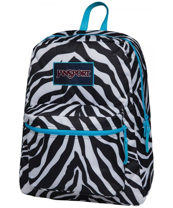 Jansport Overexposed Zebra Mammoth T08W0CX