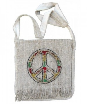 Peace Purse Handbag Rasta Colors