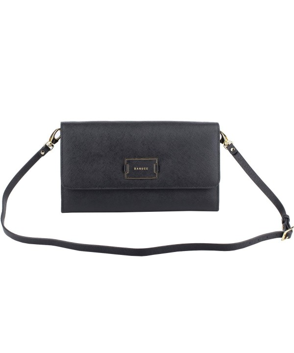 Banuce Leather Shoulder Wallet Crossbody