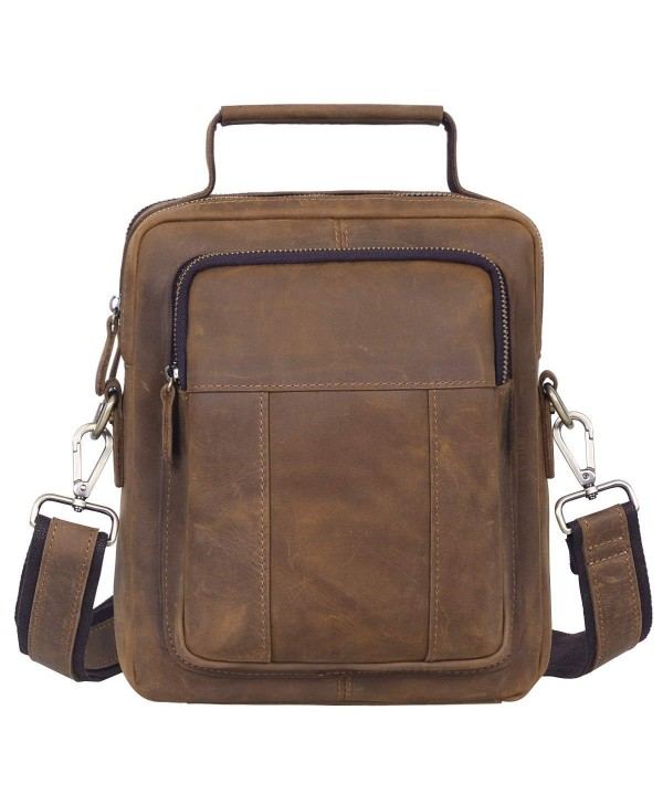 Jack Chris Genuine Messenger Crossbody